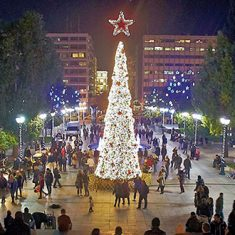 christmas in athens - Hotel Attalos Athens