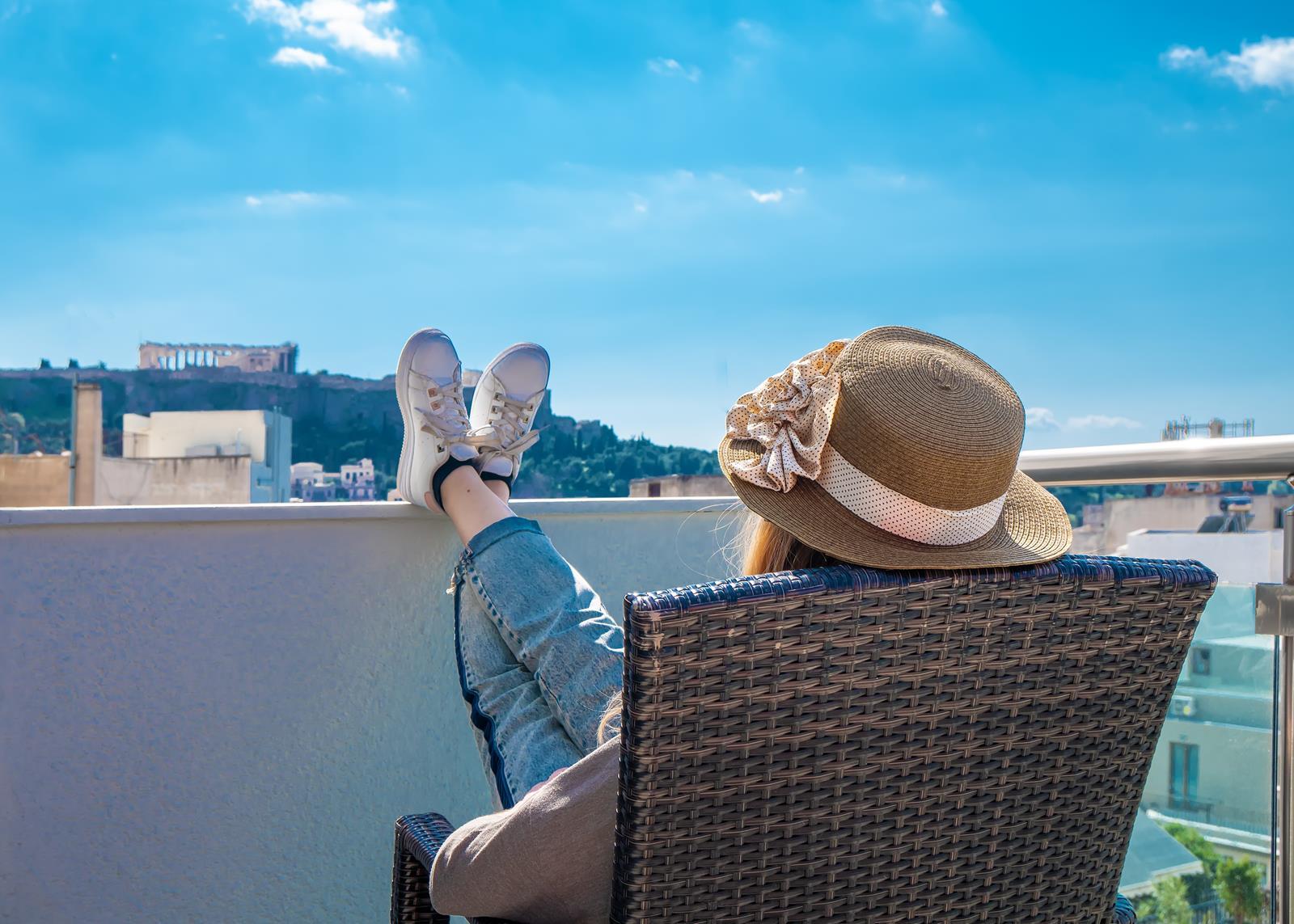ξενοδοχειο κεντρο αθηνα θεα ακροπολη- Hotel Attalos Athens